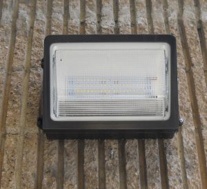 New, upgraded LED lighting for the exterior.