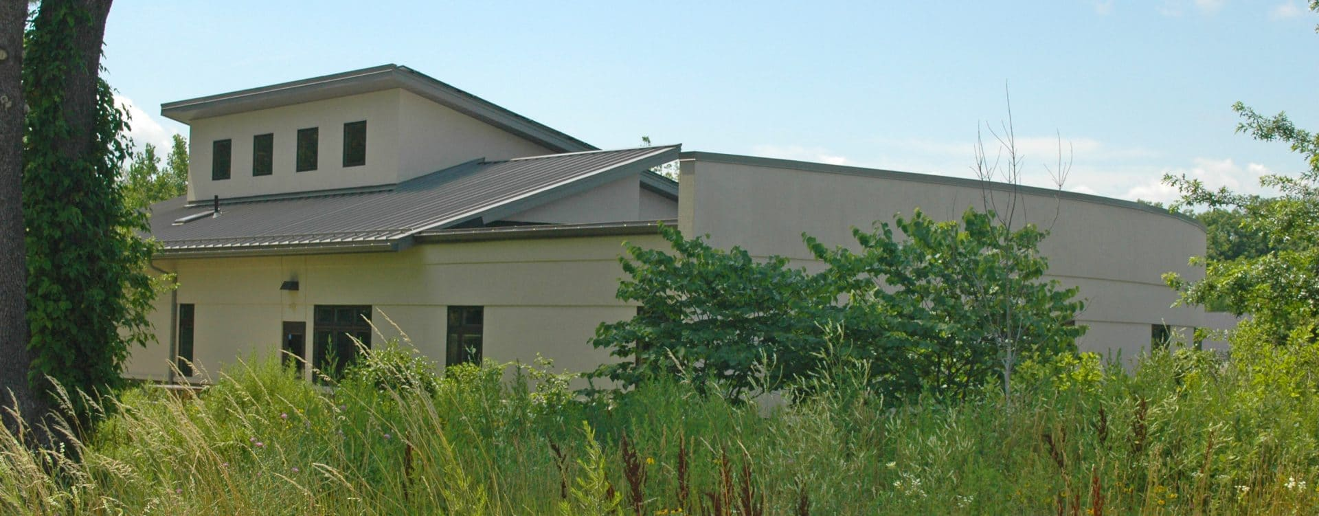 Image of rear of POA building.