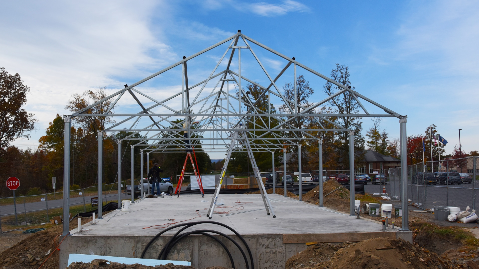RVCSD Greenhouse Frame