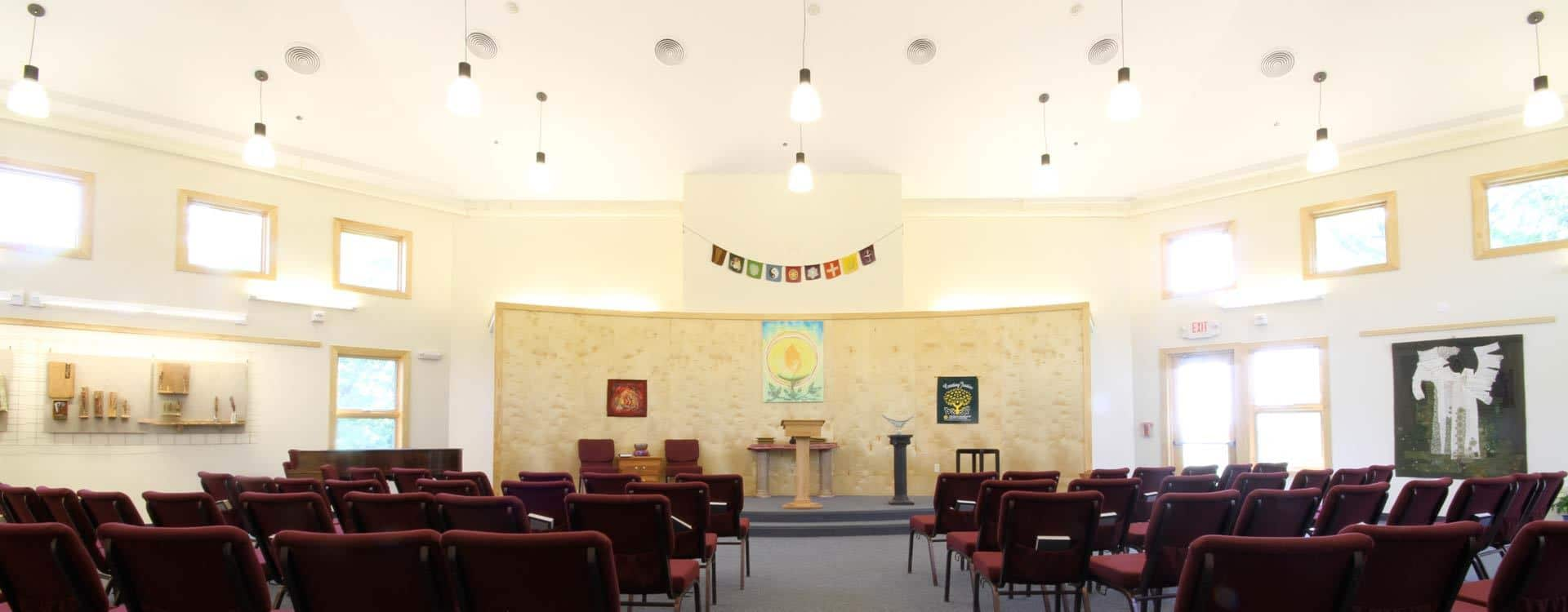 Unitarian Universalist Church Interior
