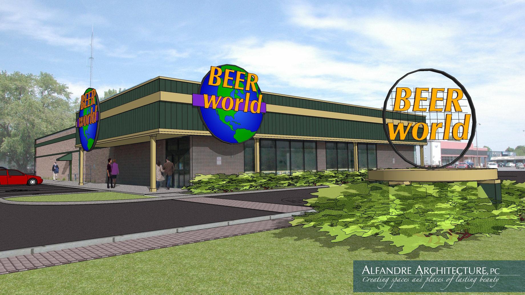Beer World Exterior
