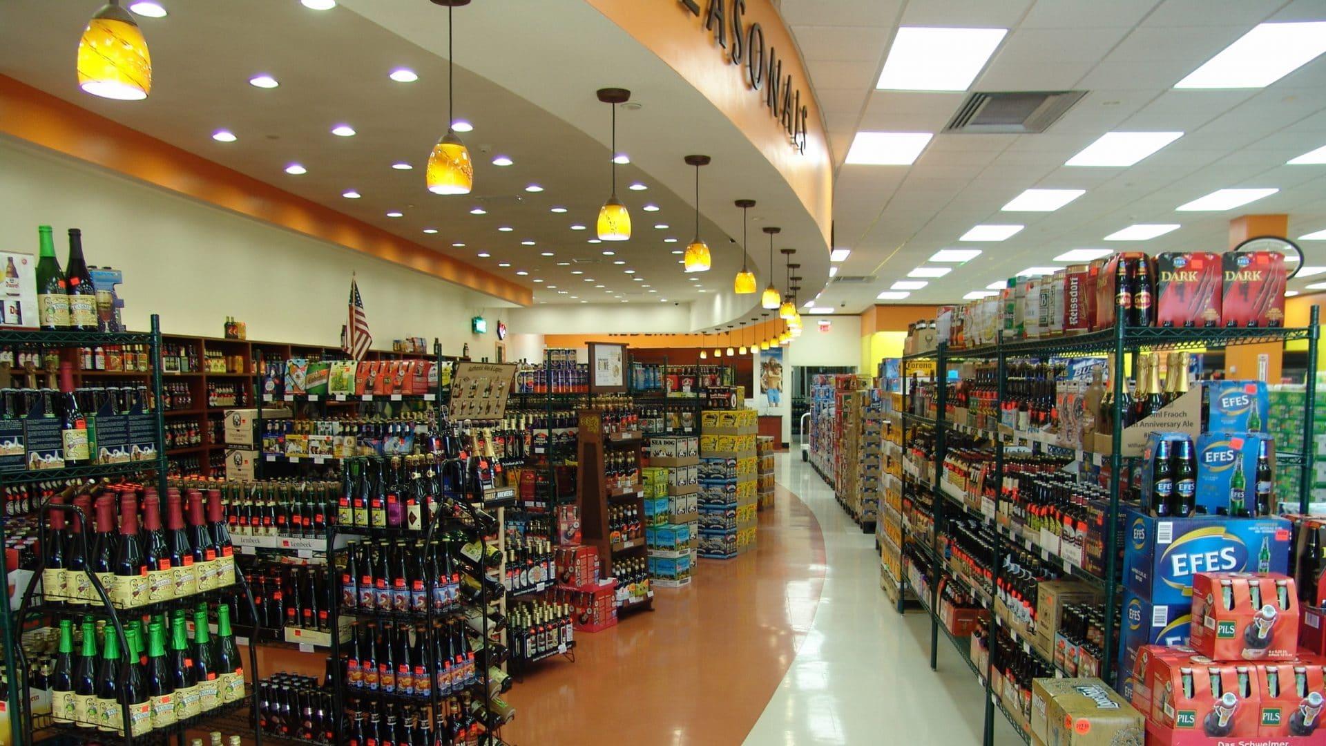 Beer World Interior