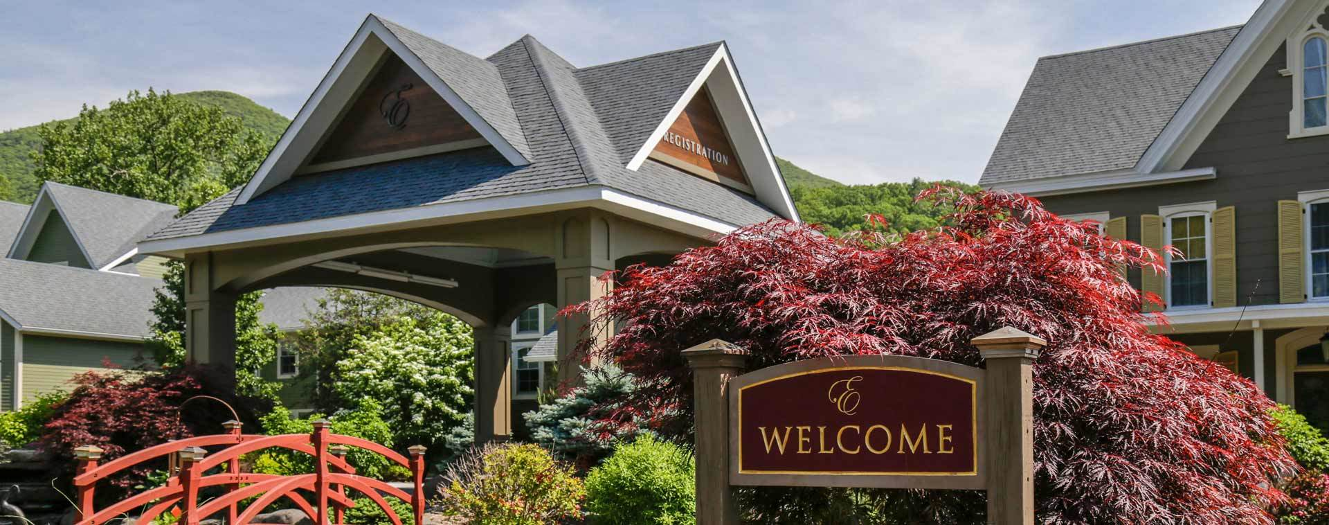 Emerson Resort Entrance - Catskill, NY