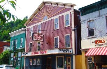 Rosendale Theatre Exterior Closeup